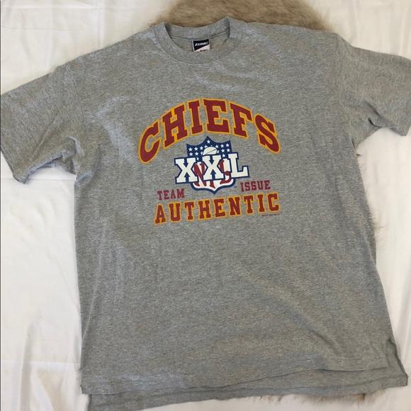 Bike Shirts | 90s Kansas City Chiefs Tshirt Size Xxl | Poshmark  for cheap